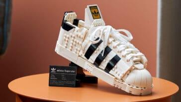 LEGO releases a buildable model of Adidas Originals Superstar 14