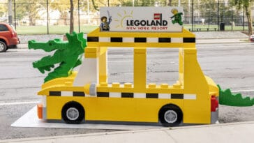 Find the LEGO NYC Taxi Cab for a chance to win Legoland New York tickets 17