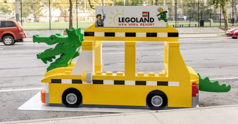 Find the LEGO NYC Taxi Cab for a chance to win Legoland New York tickets 16