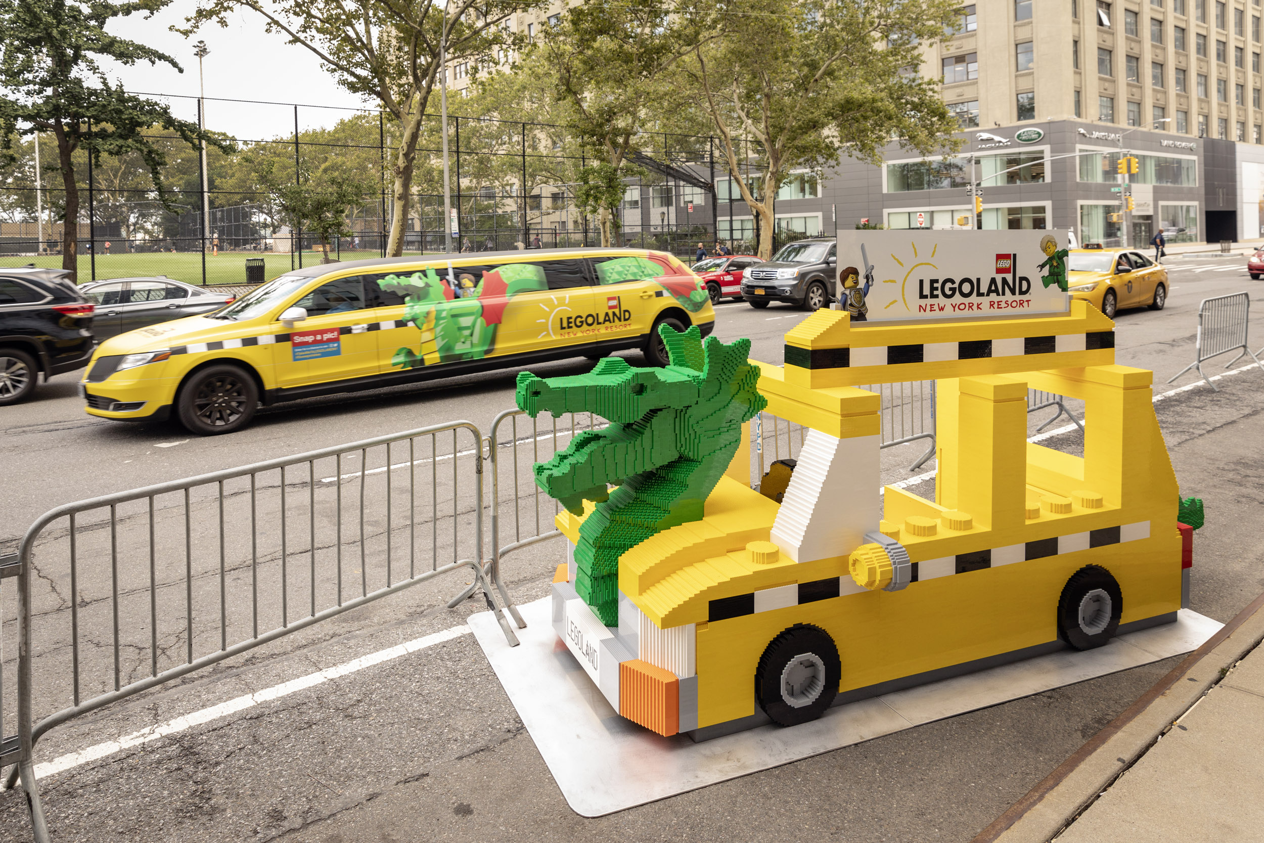 Find the LEGO NYC Taxi Cab for a chance to win Legoland New York tickets 18