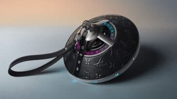 Louis Vuitton releases an otherworldly Horizon Light Up Bluetooth speaker 3