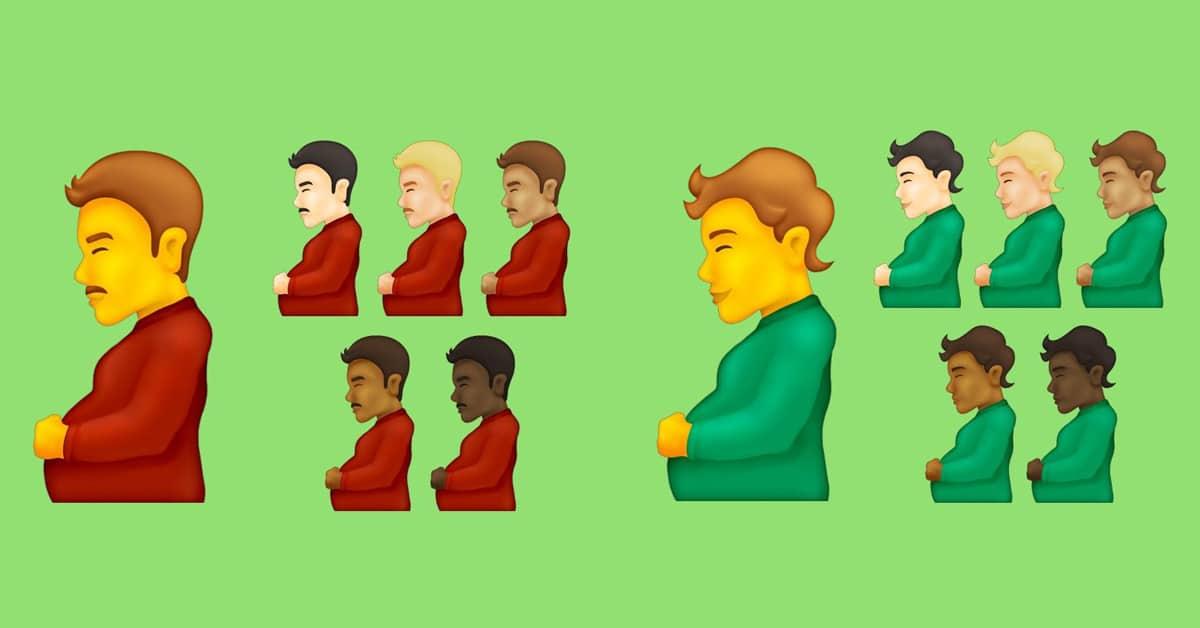 Pregnant Man emoji may be coming to smartphones 13