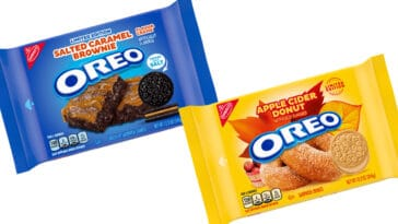 Oreo is releasing salted caramel brownie and apple cider donut flavors 14