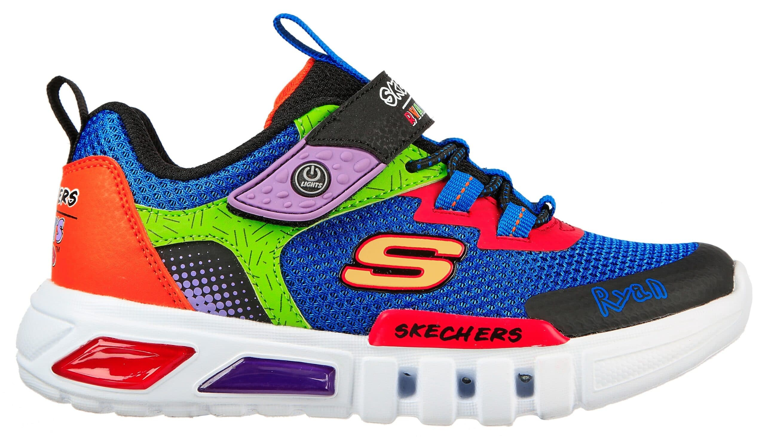 Skechers and Ryan's World YouTube channel collab for a shoe collection for kids 16