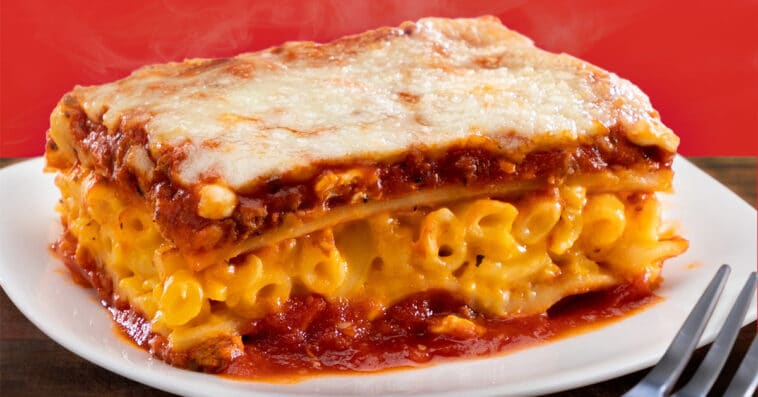 Stouffer's is giving away family-size LasagnaMac 16