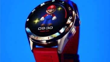 TAG Heuer x Super Mario smartwatch