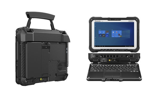 Panasonic Toughbook G2 is a rugged, modular, 2-in-1 laptop 14