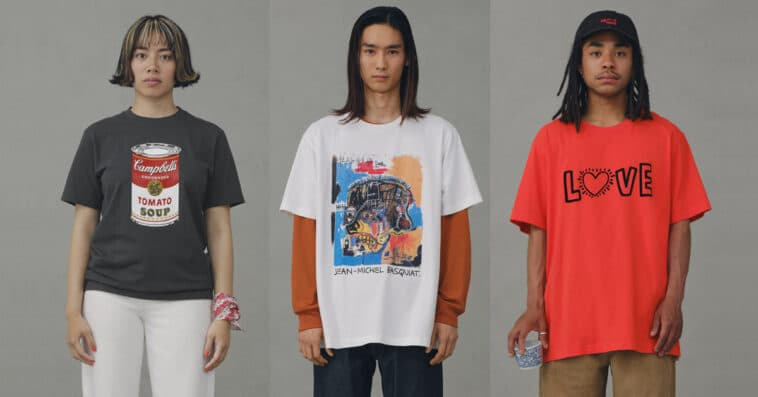 UNIQLO unveils UT collection honoring Andy Warhol, Jean-Michel Basquiat, and Keith Haring 16