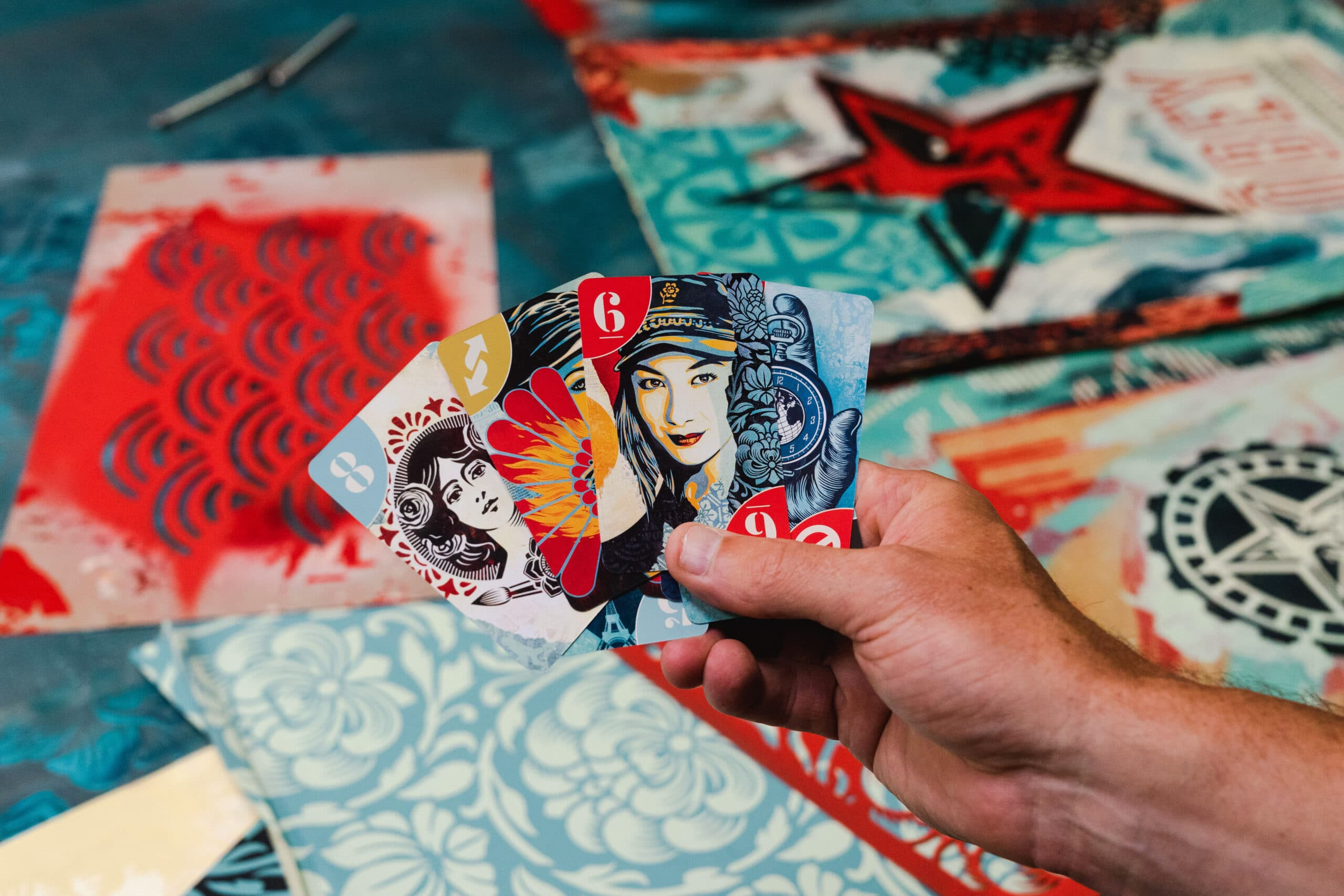 UNO partners with artist Shepard Fairey for a premium deck 17