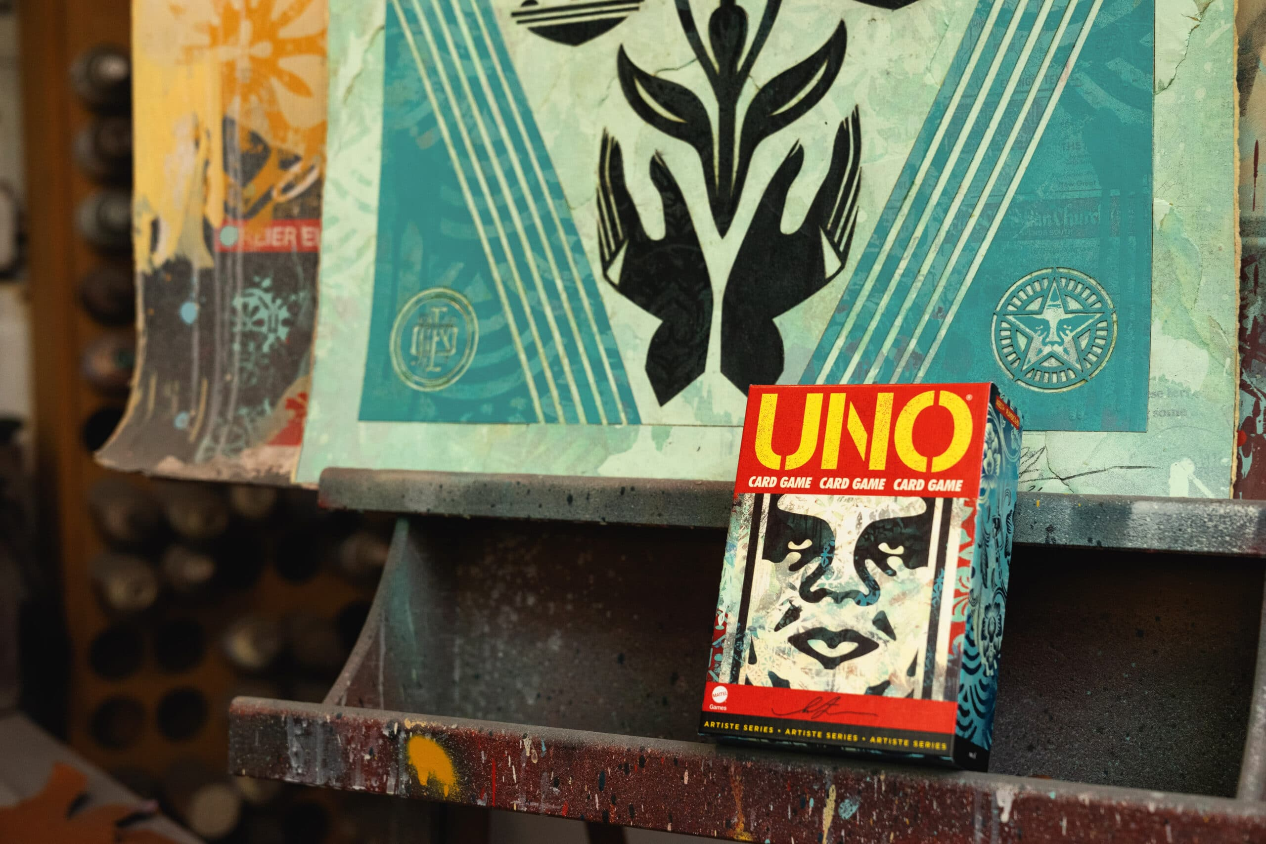 UNO partners with artist Shepard Fairey for a premium deck 20