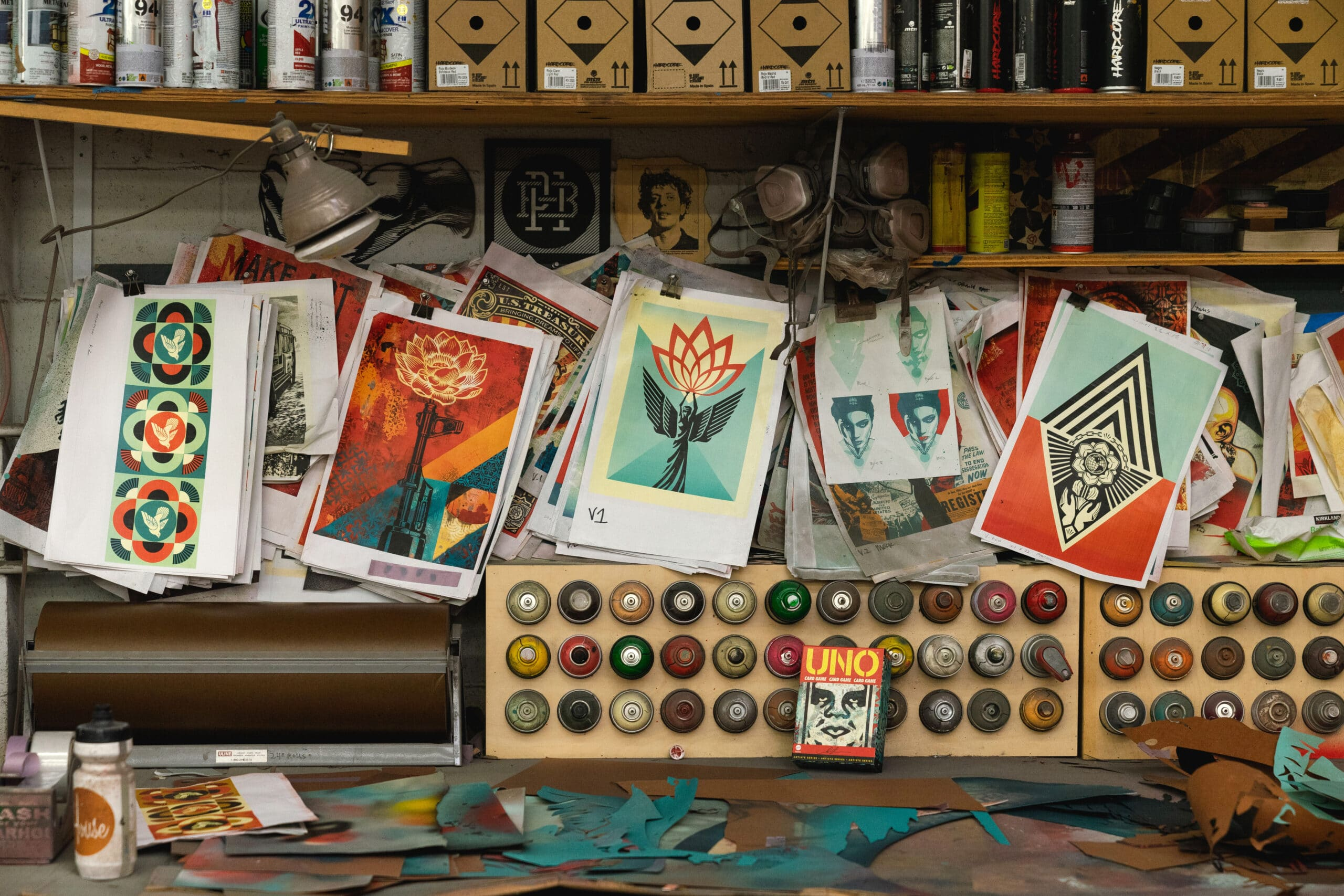 UNO partners with artist Shepard Fairey for a premium deck 19