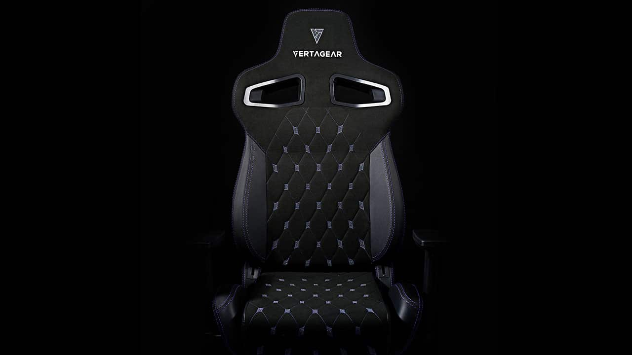 This gaming chair is designed with Swarovski crystals 15