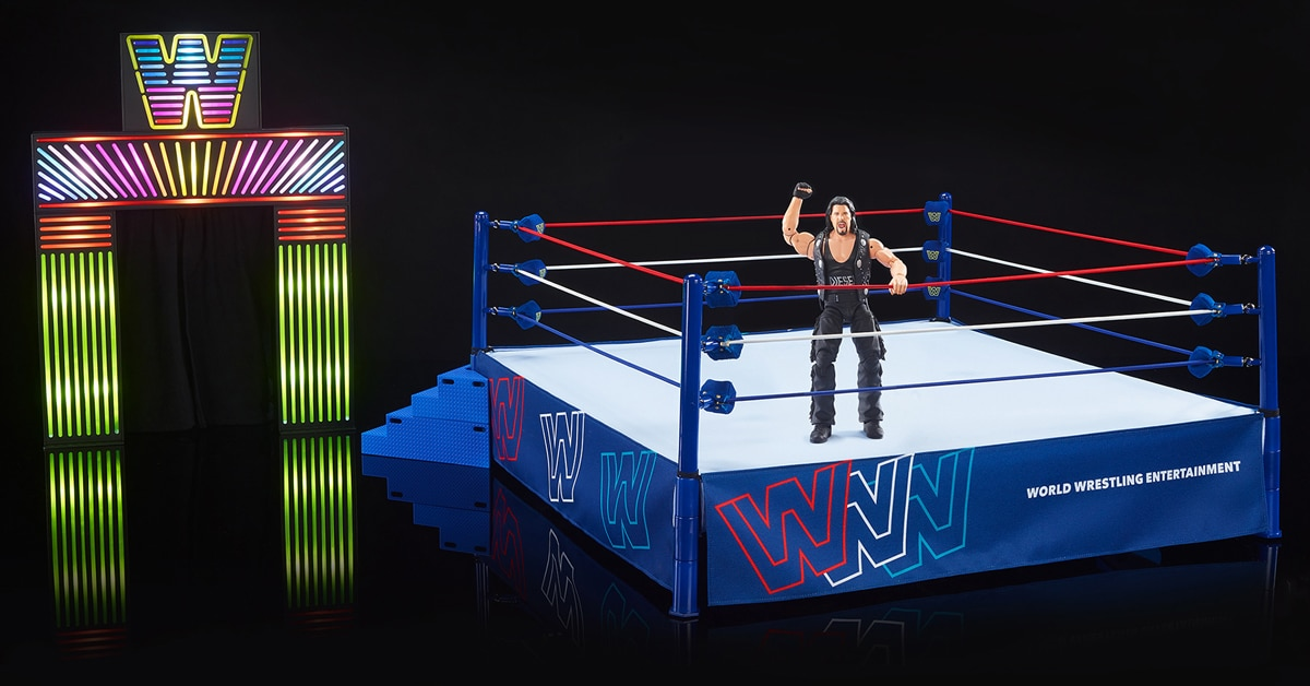 Mattel honors WWE's New Generation era with a '90s-inspired arena playset 14