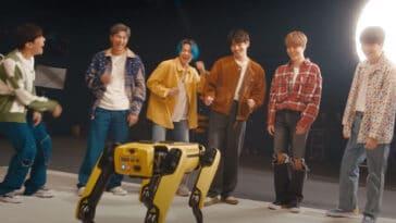 BTS' latest video features Spot the dancing robot 17