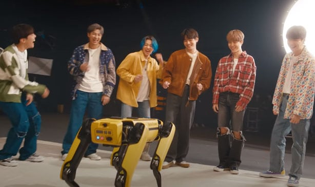BTS' latest video features Spot the dancing robot 14