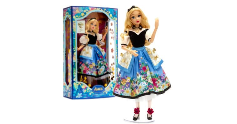 Disney's Alice in Wonderland marks its 70th anniversary with a Mary Blair-inspired doll 16