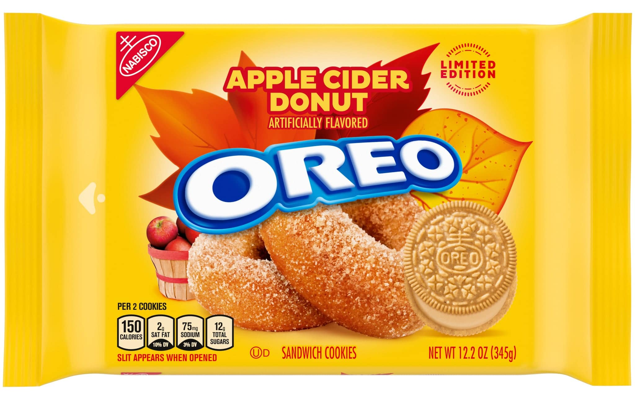 Oreo is releasing salted caramel brownie and apple cider donut flavors 18