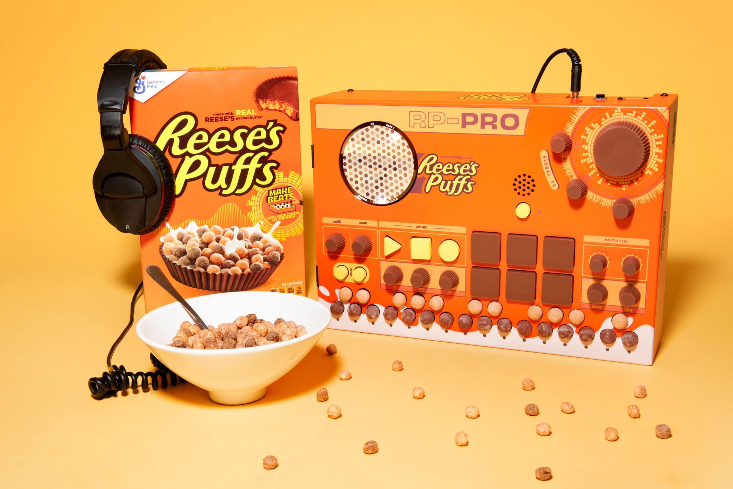 These Reese's Puffs cereal boxes let fans create their own music tracks 19