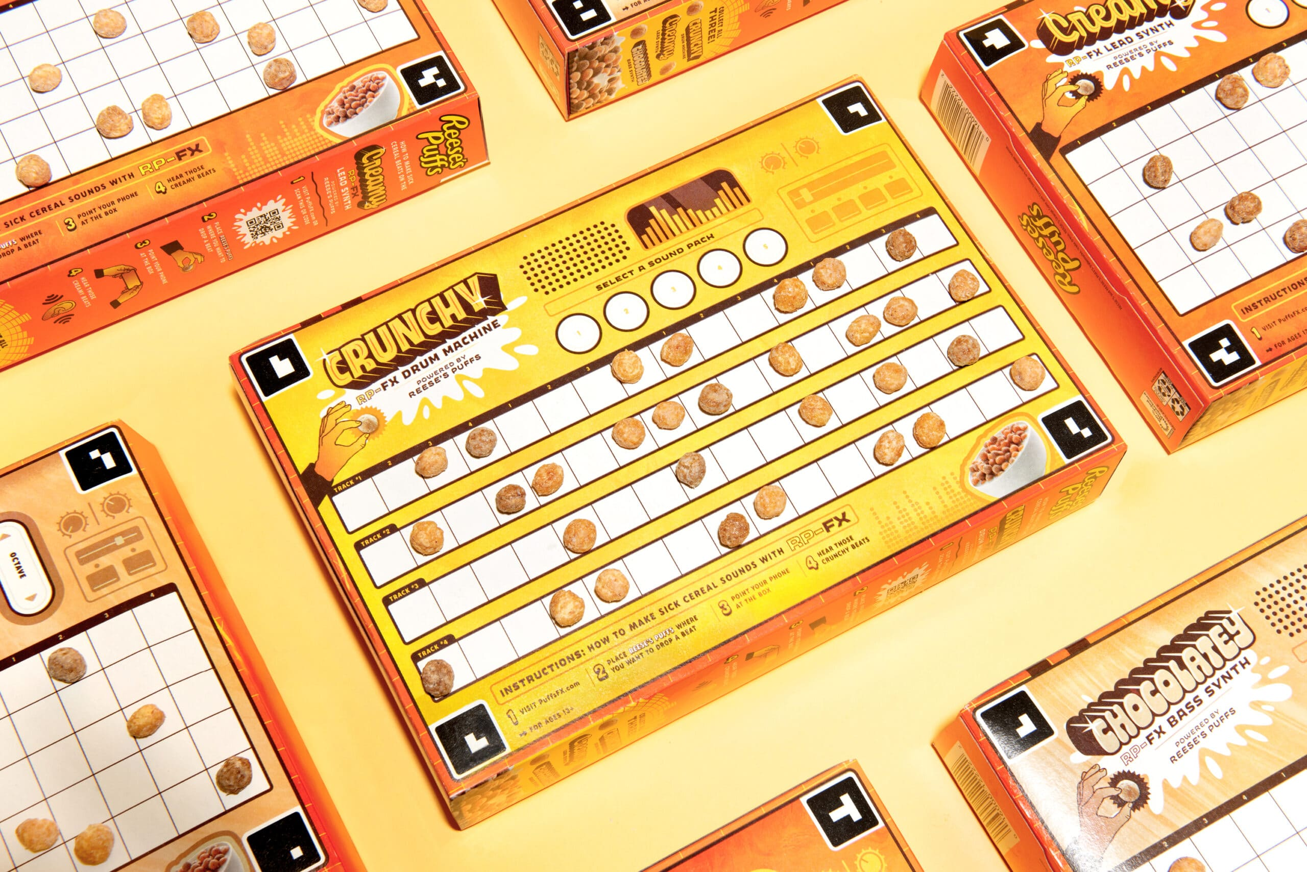 These Reese's Puffs cereal boxes let fans create their own music tracks 18