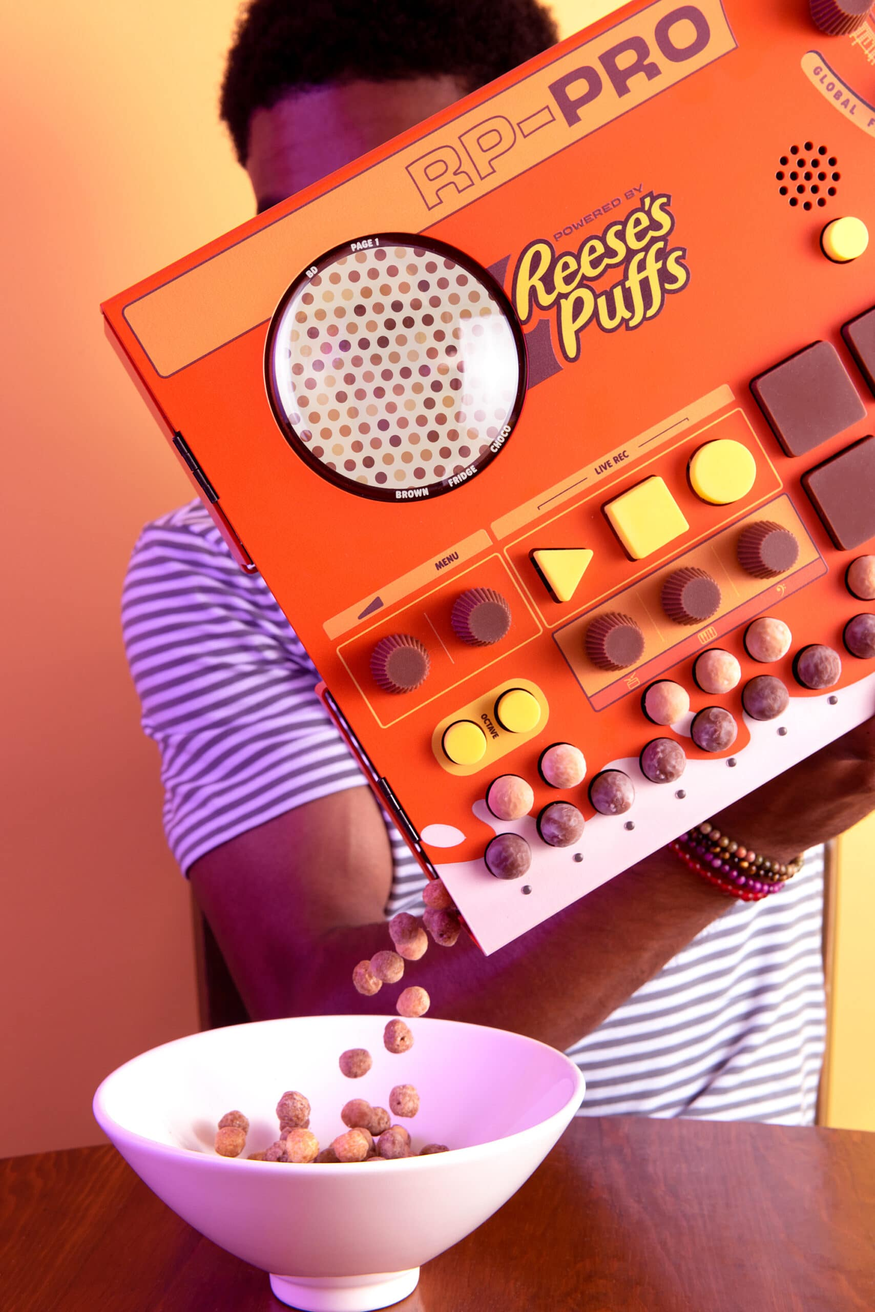 These Reese's Puffs cereal boxes let fans create their own music tracks 20