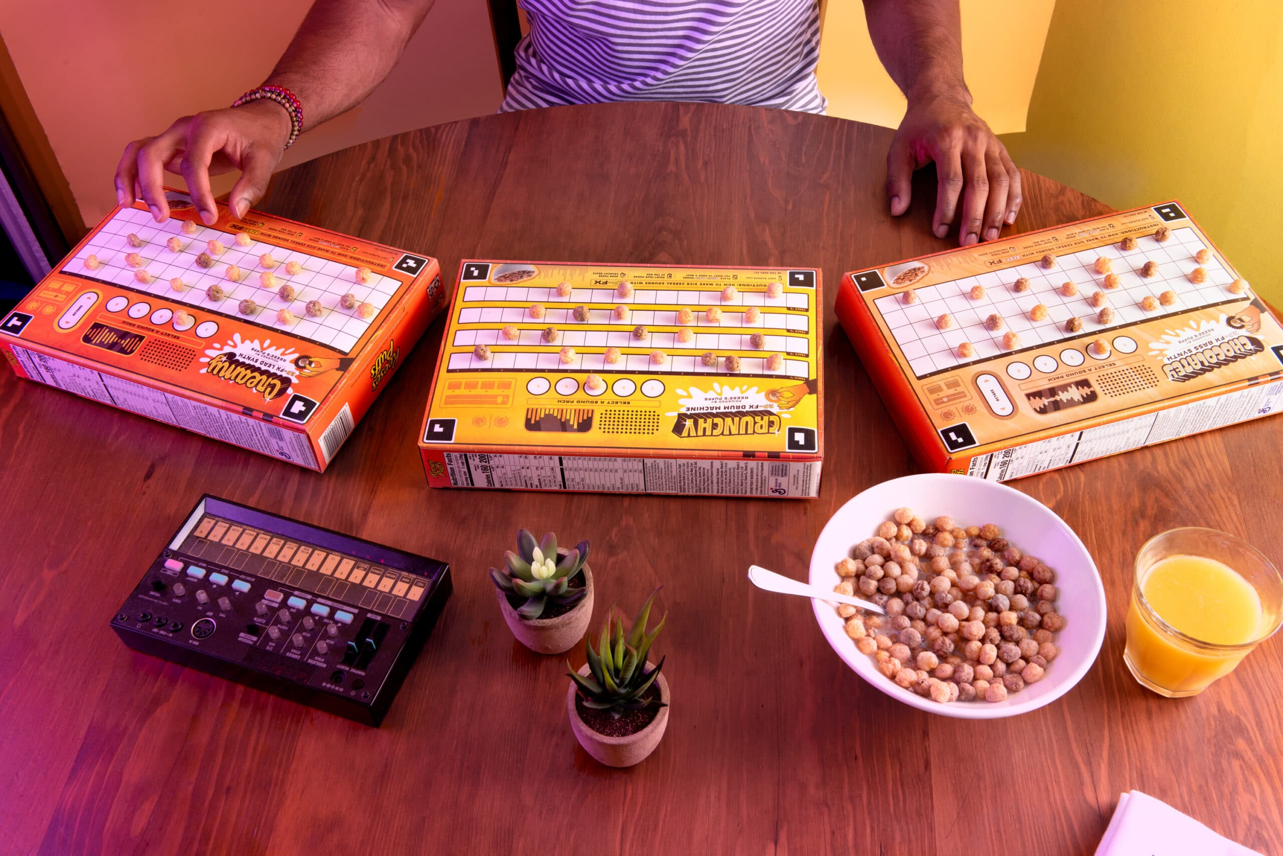 These Reese's Puffs cereal boxes let fans create their own music tracks 17