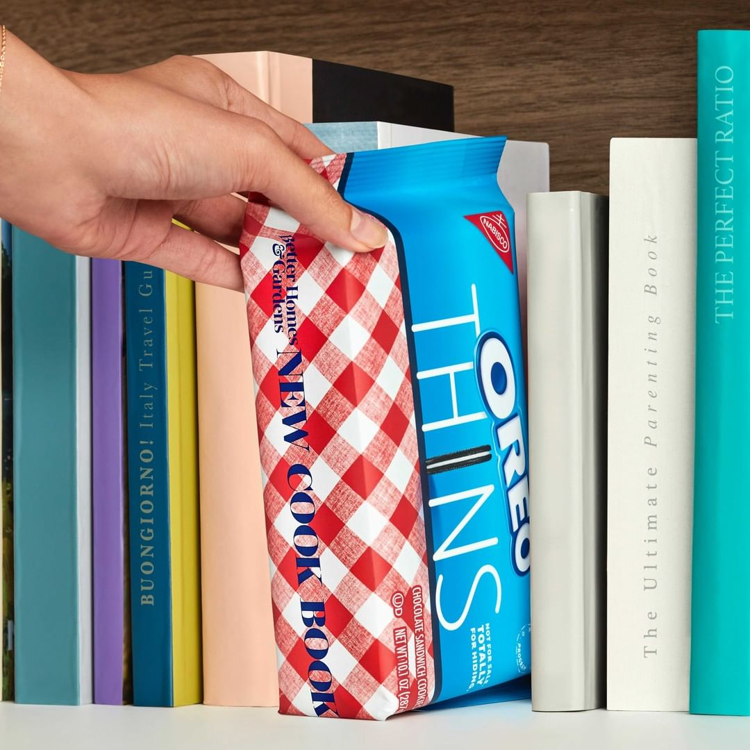 Oreo creates incognito packaging for Oreo Thins to trick unwanted snackers 20