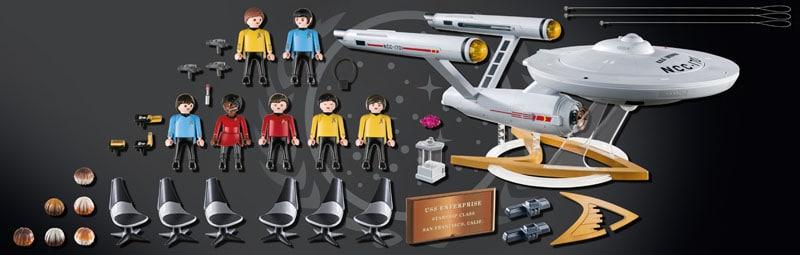 Star Trek's U.S.S. Enterprise is getting a Playmobil model 20