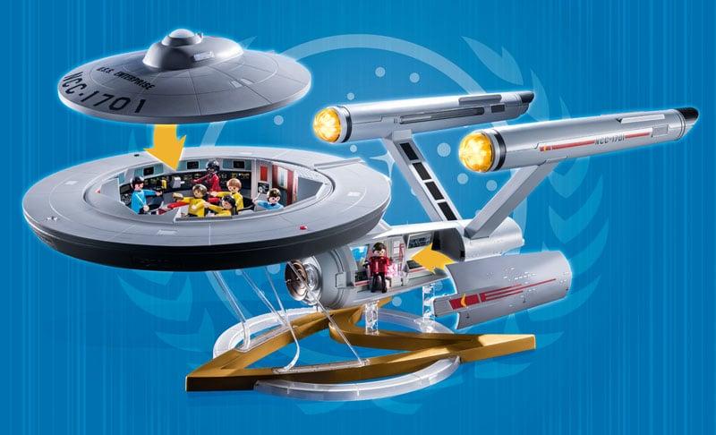 Star Trek's U.S.S. Enterprise is getting a Playmobil model 18
