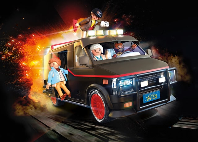 Playmobil is releasing a toy replica of the A-Team Van 17