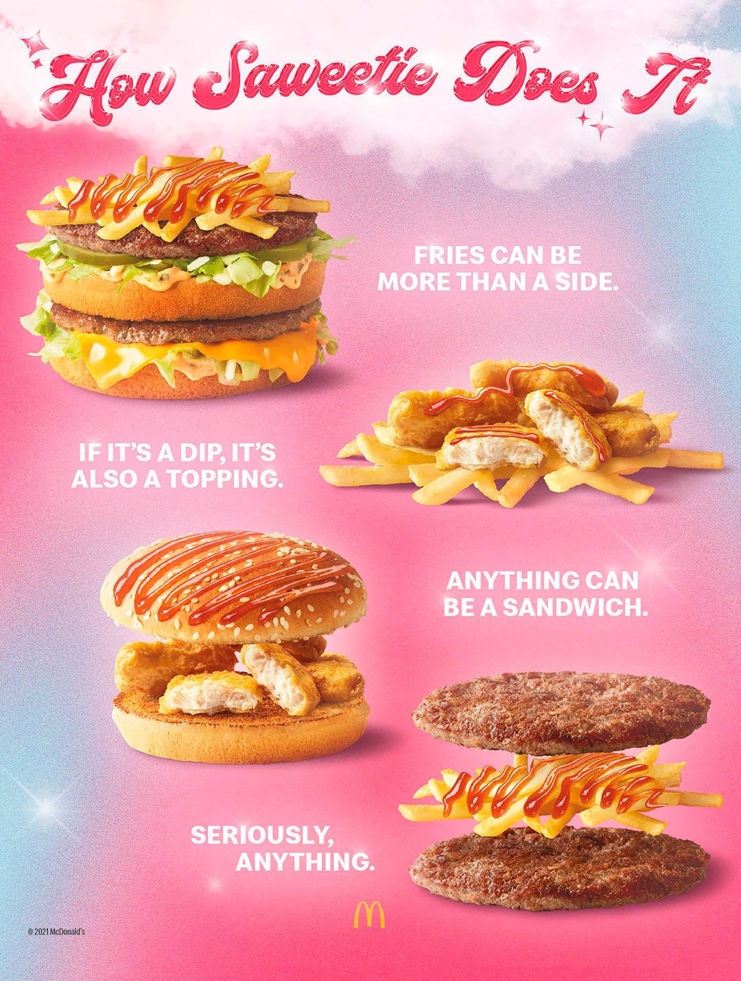 McDonald's partners with Saweetie for its new celebrity meal after BTS collab 17