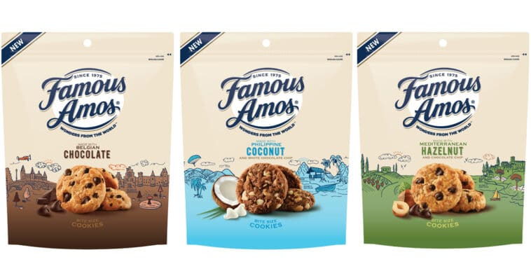 Famous Amos celebrates National Chocolate Chip Cookie Day with new flavors 16