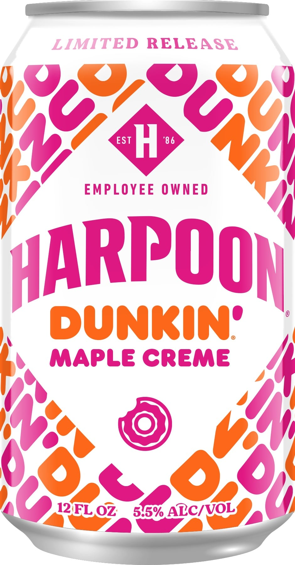 Harpoon Brewery is releasing 3 new Dunkin' Donuts-inspired beers for fall 18