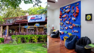 Hasbro and Vrbo are renting out a Nerf-themed lake house to one lucky family 18