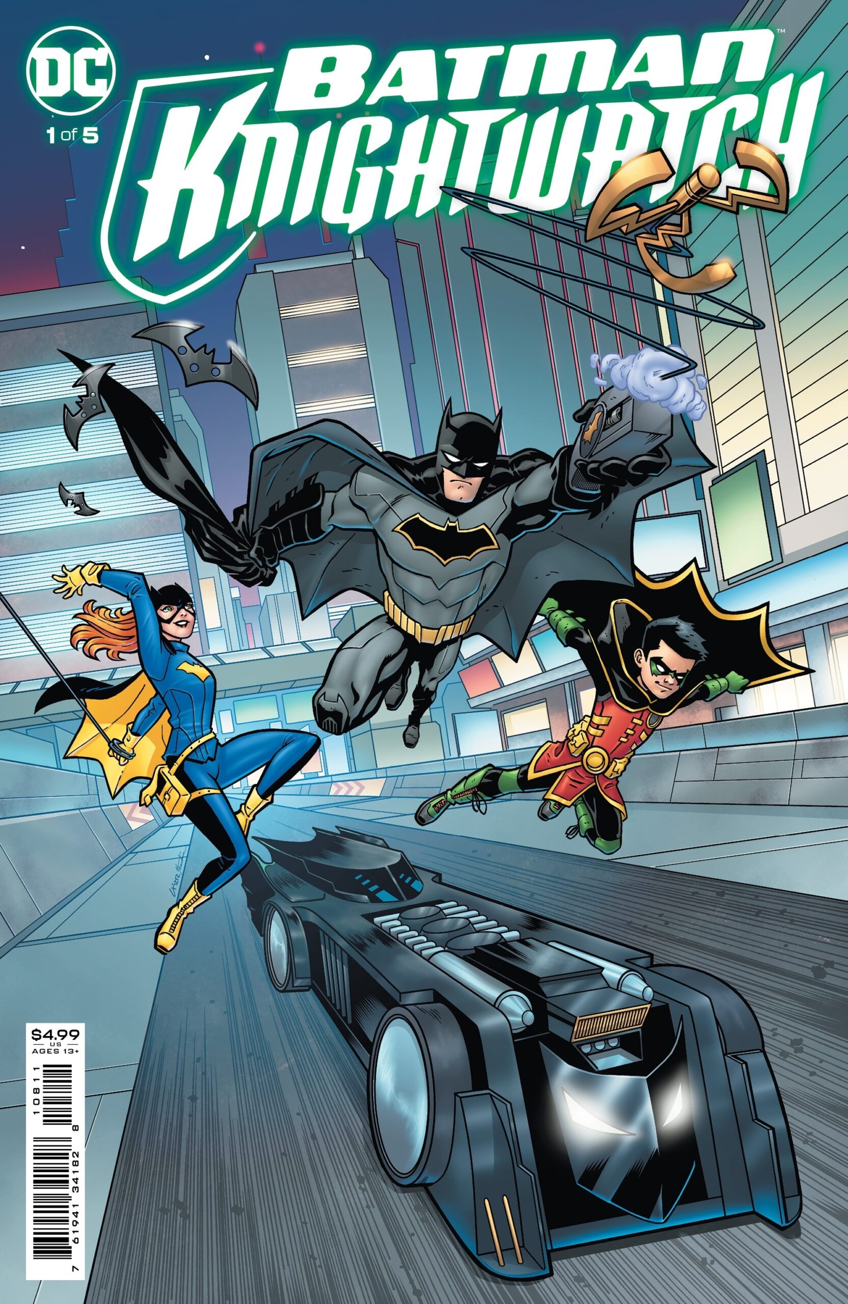 Knightwatch Comic Cover