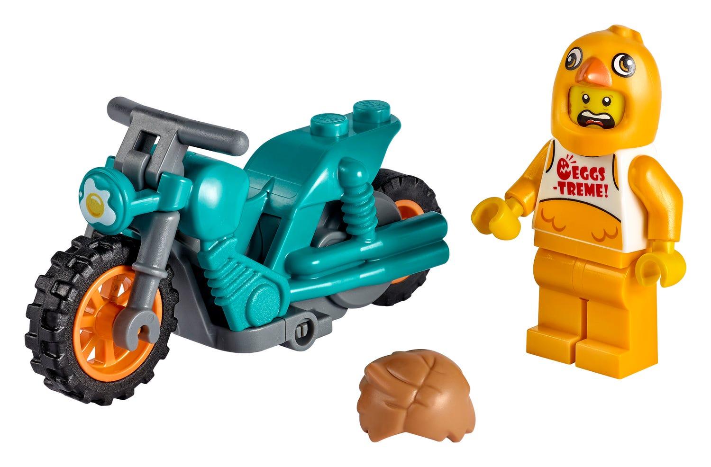 LEGO introduces flywheel-powered bikes with LEGO City Stuntz sets 25