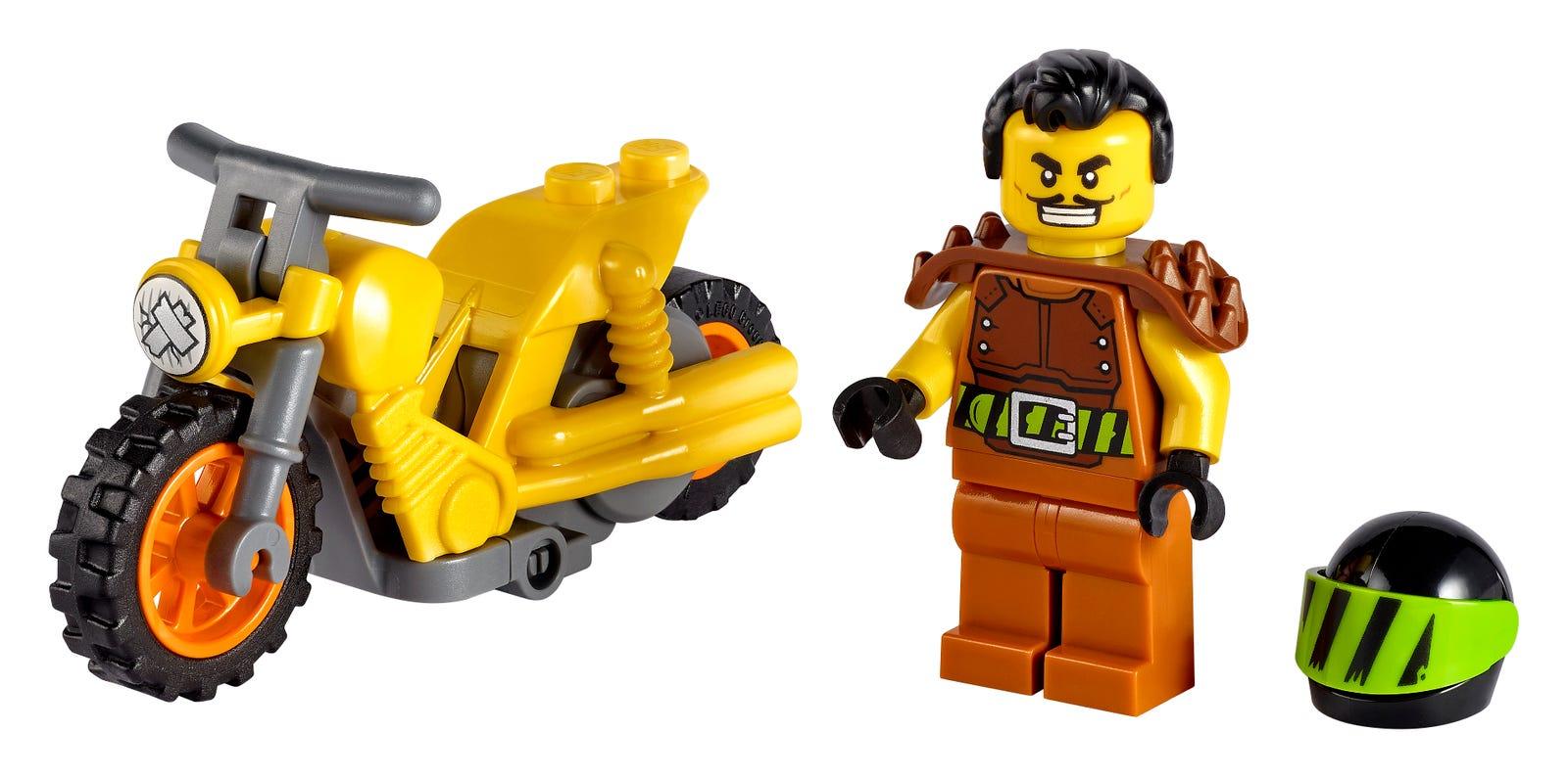 LEGO introduces flywheel-powered bikes with LEGO City Stuntz sets 21