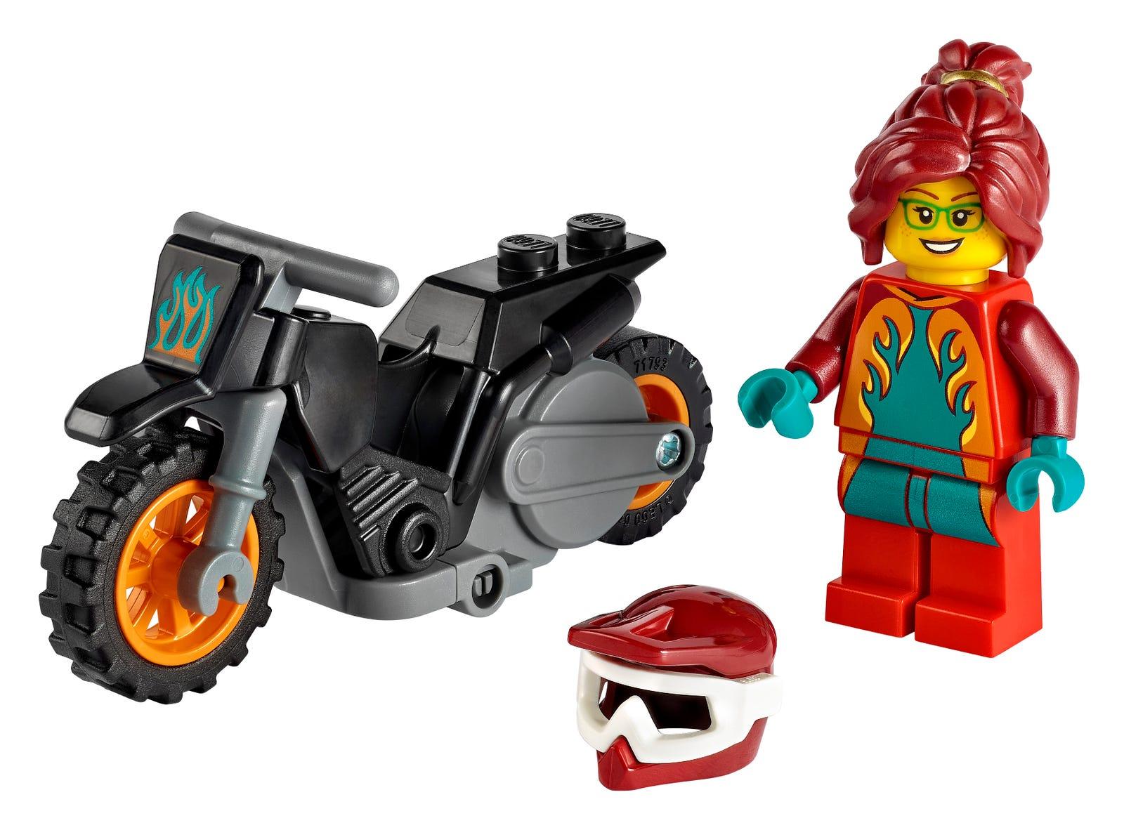 LEGO introduces flywheel-powered bikes with LEGO City Stuntz sets 26