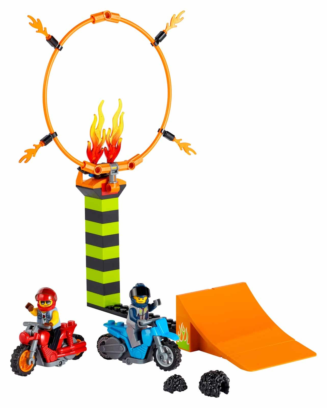 LEGO introduces flywheel-powered bikes with LEGO City Stuntz sets 23