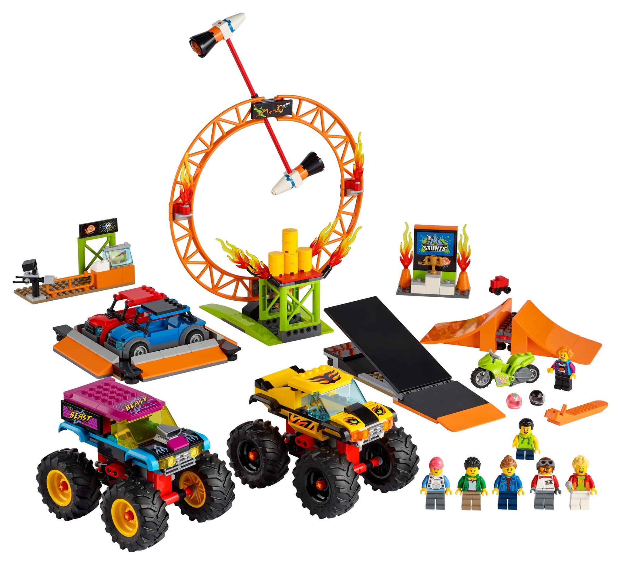 LEGO introduces flywheel-powered bikes with LEGO City Stuntz sets 19