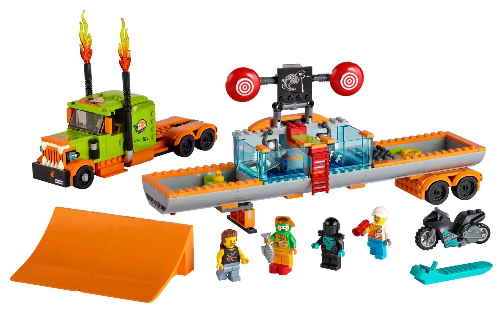LEGO introduces flywheel-powered bikes with LEGO City Stuntz sets 18