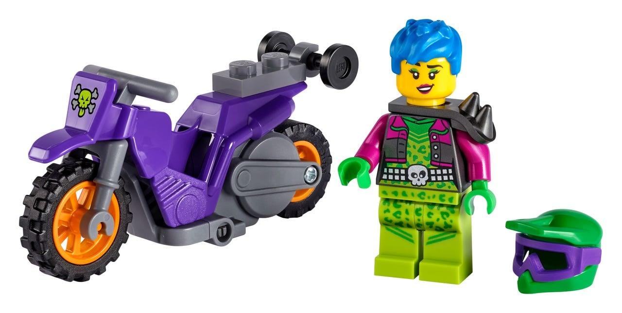 LEGO introduces flywheel-powered bikes with LEGO City Stuntz sets 20