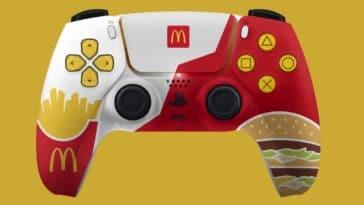McDonald's-themed PS5 controller