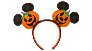 This adorable Mickey Mouse Jack-o'-Lantern Ear Headband is getting us in the mood for Halloween 19
