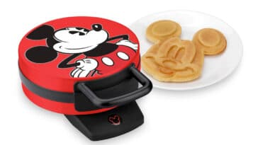 This Mickey Mouse Waffle Maker will get your kids excited for breakfast 14