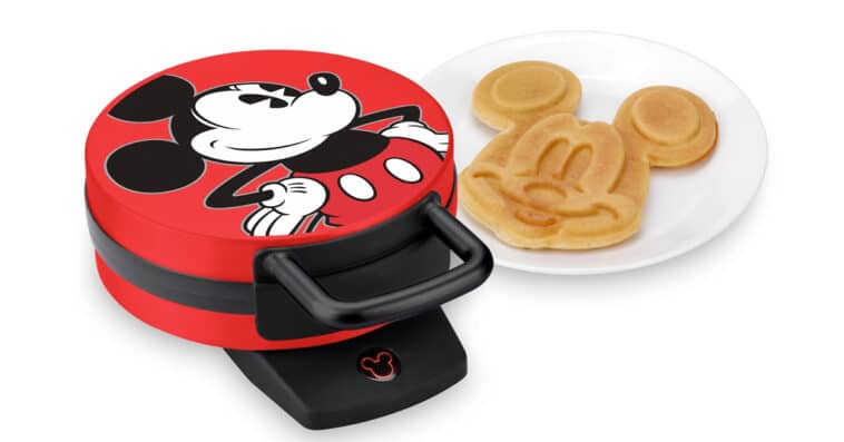 This Mickey Mouse Waffle Maker will get your kids excited for breakfast 16