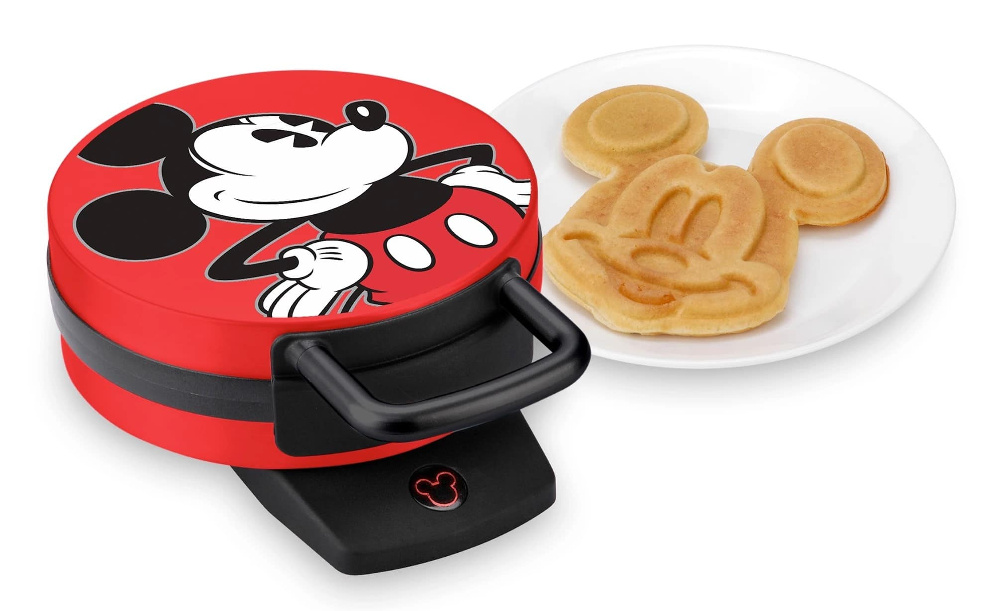 This Mickey Mouse Waffle Maker will get your kids excited for breakfast 17