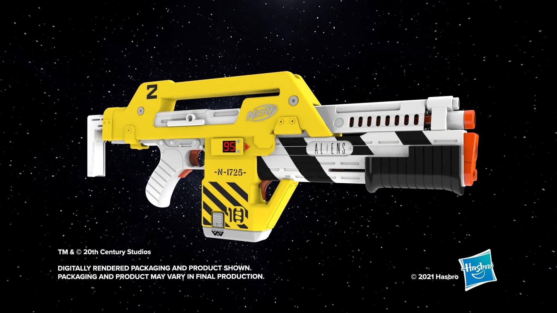 Hasbro creates a Nerf blaster based on the sci-fi film Aliens 17