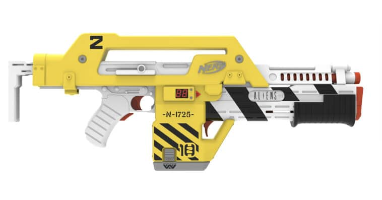 Hasbro creates a Nerf blaster based on the sci-fi film Aliens 16