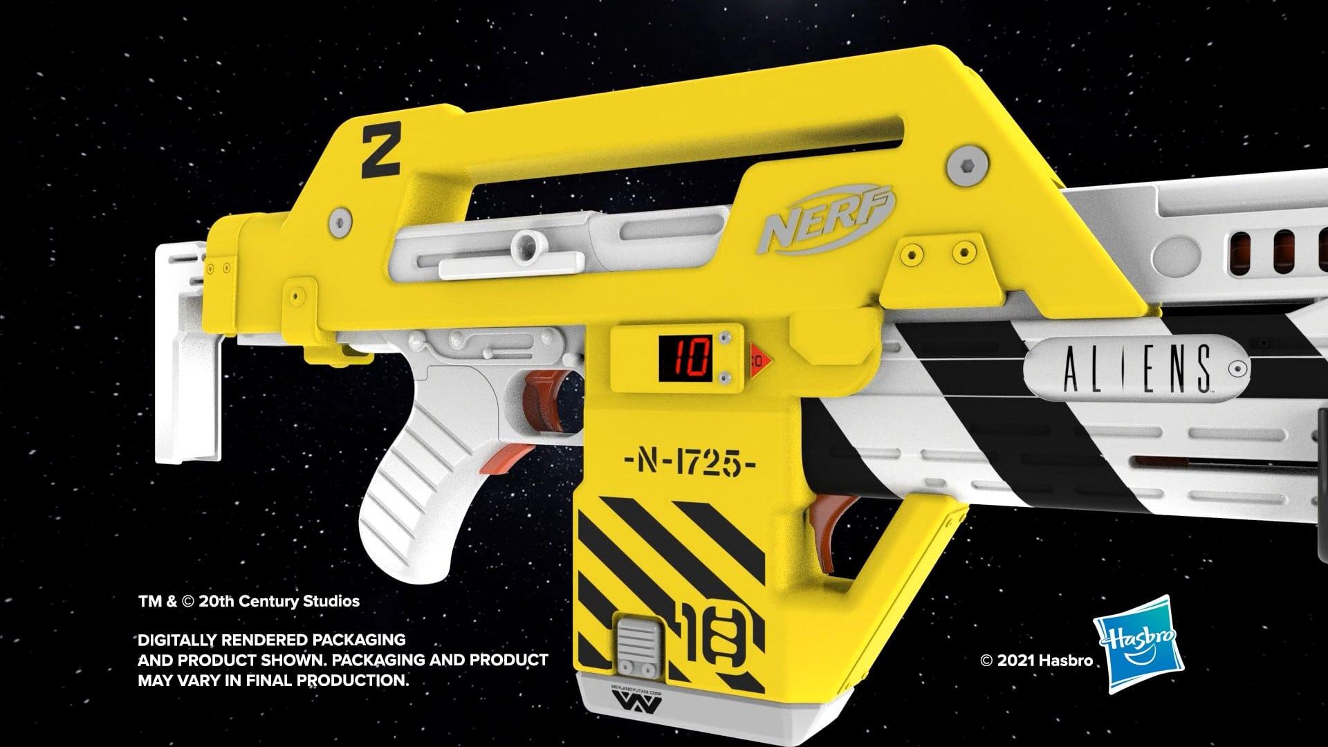 Hasbro creates a Nerf blaster based on the sci-fi film Aliens 18