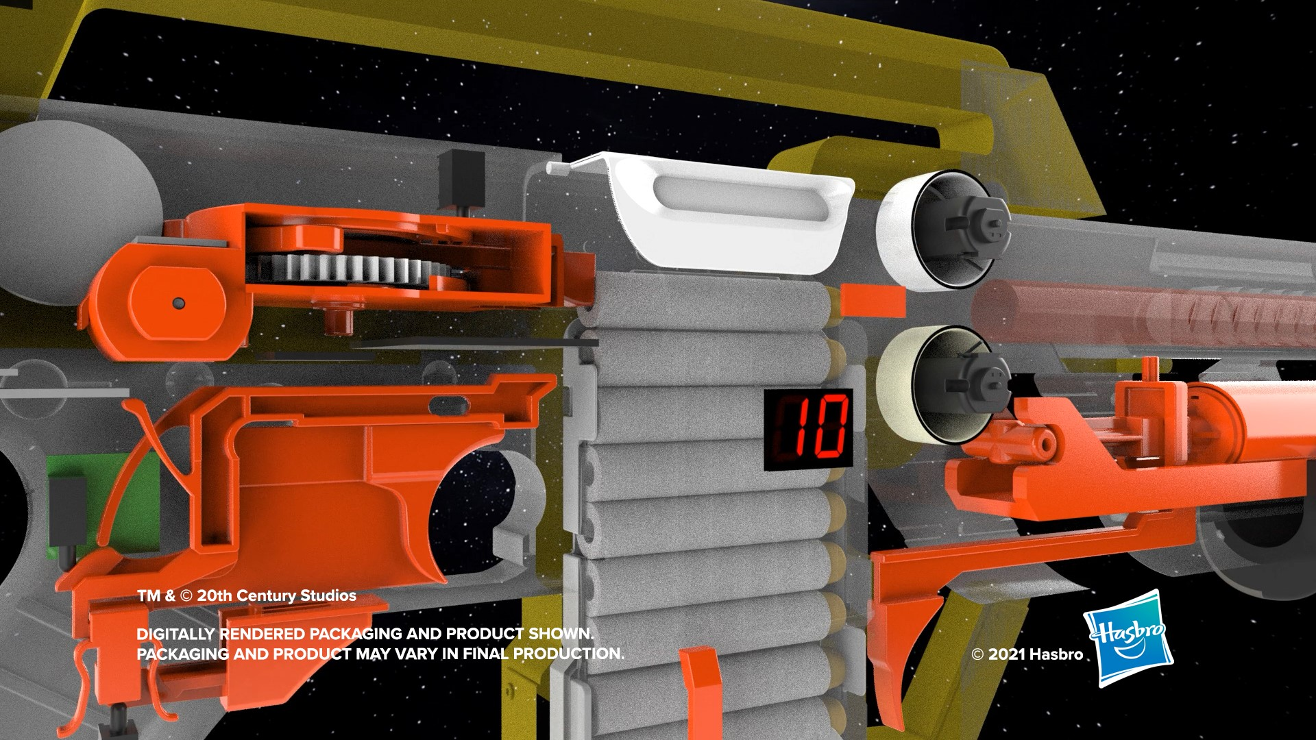Hasbro creates a Nerf blaster based on the sci-fi film Aliens 19